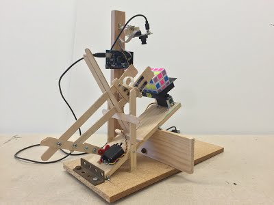 Automated Rubik's Cube Solving Robot