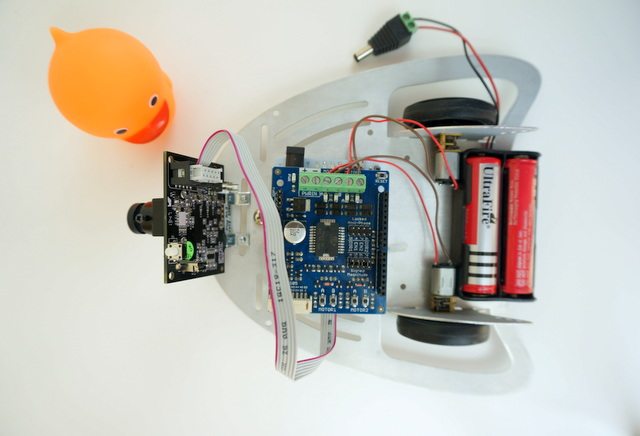 Colour Tracking Mobile Robot