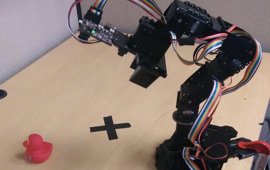 Intelligent Robotic Arm