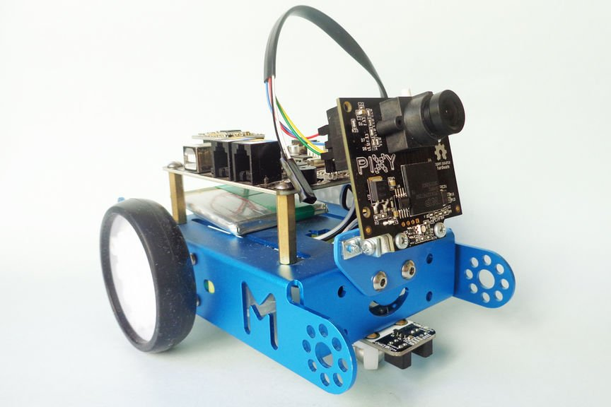 Object Follower Robot with Mbot