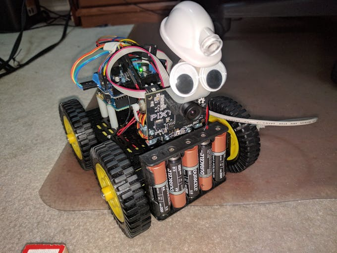 Rocky Rover Robotic Vision System